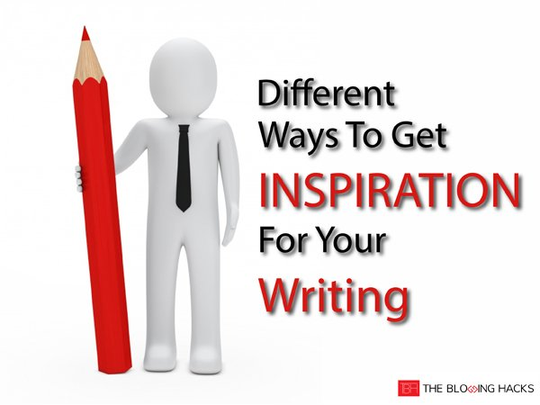 inspiration for your writing