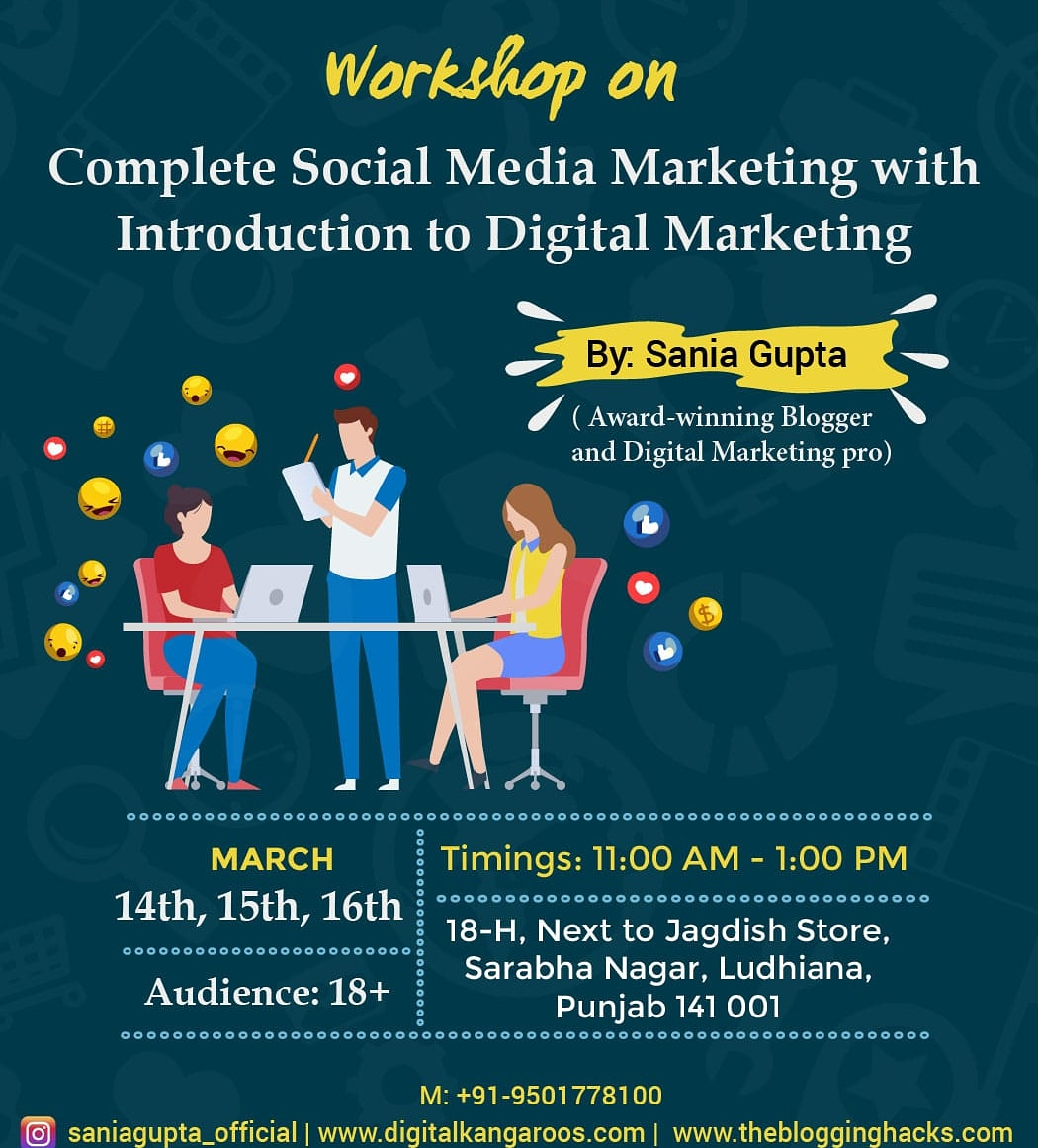 Workshop on Social Media Marketing