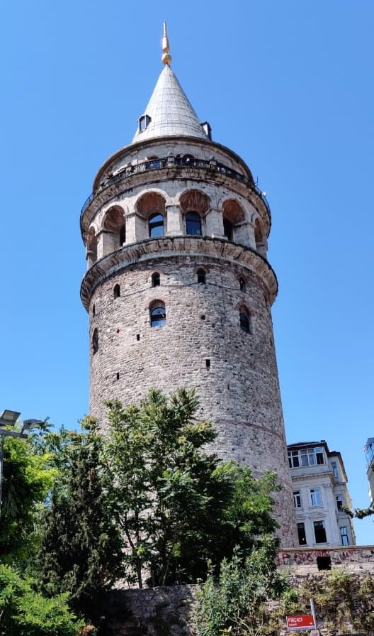 The Famous Galata Tower